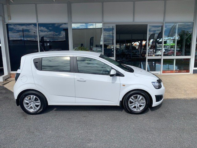 2015 Holden Barina CD TM MY15 SUMMIT WHITE