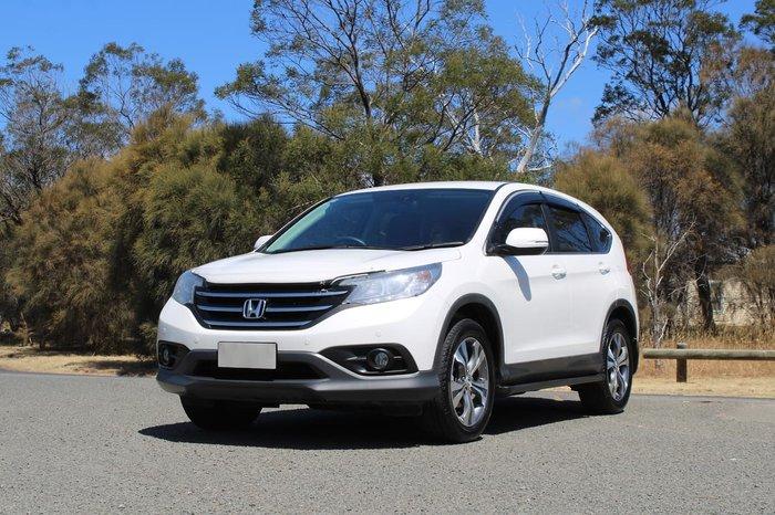 2014 Honda CR-V VTi Plus RM MY15 White