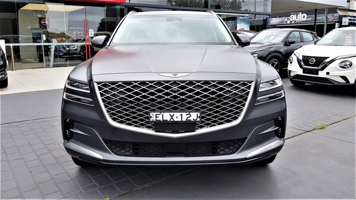 2020 Genesis GV80 3.5T AWD V1 MY20 4X4 On Demand Melbourne Grey