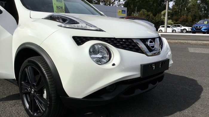 2018 Nissan JUKE Ti-S F15 MY18 4X4 On Demand IVORY PEARL