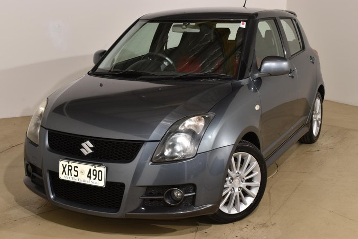 2007 Suzuki Swift Sport RS416 Azure Grey