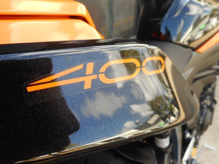 2020 Kawasaki Z400 Orange