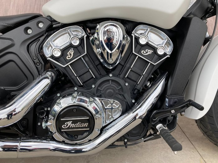 2021 Indian SCOUT WHITE SMOKE White