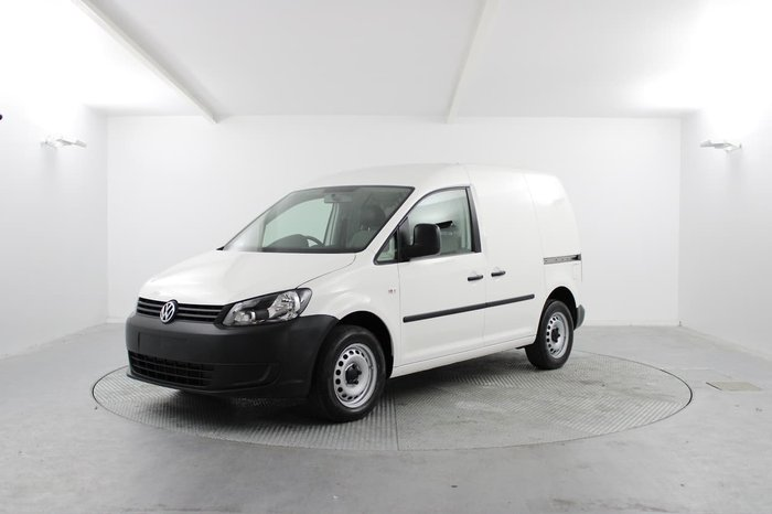 2015 Volkswagen Caddy TSI160 2KN MY15 White