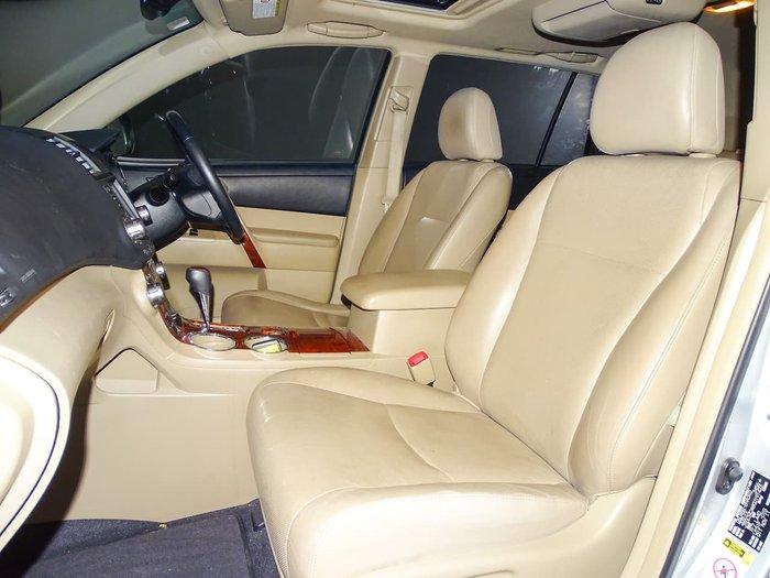 2012 Toyota Kluger Grande GSU45R MY12 Four Wheel Drive Silver