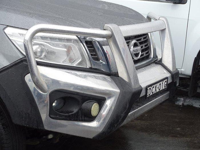 2015 Nissan Navara ST D23 4X4 Dual Range Grey