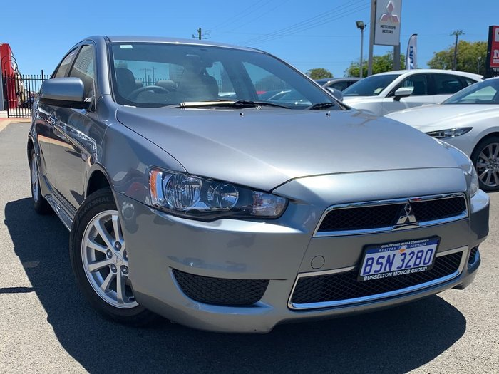 2013 Mitsubishi Lancer LX CJ MY13 Grey