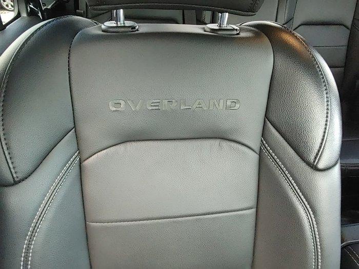 2020 Jeep Gladiator Overland JT MY20 4X4 On Demand Black