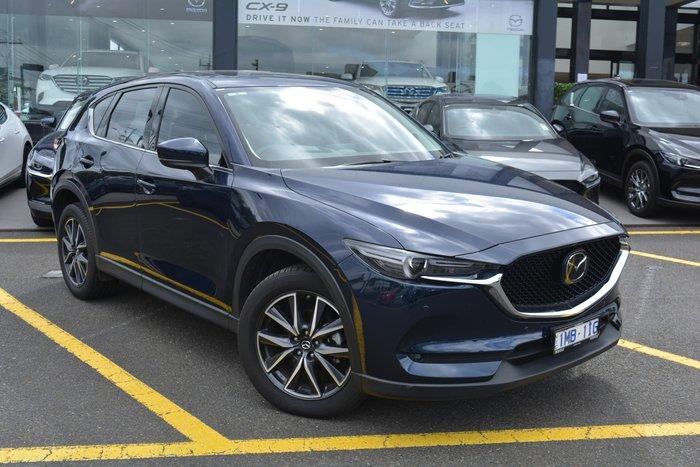 2018 Mazda CX-5 GT KF Series 4X4 On Demand Deep Crystal Blue