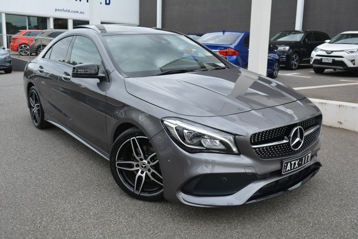 2018 Mercedes-Benz CLA-Class CLA180 C117 Mountain Grey