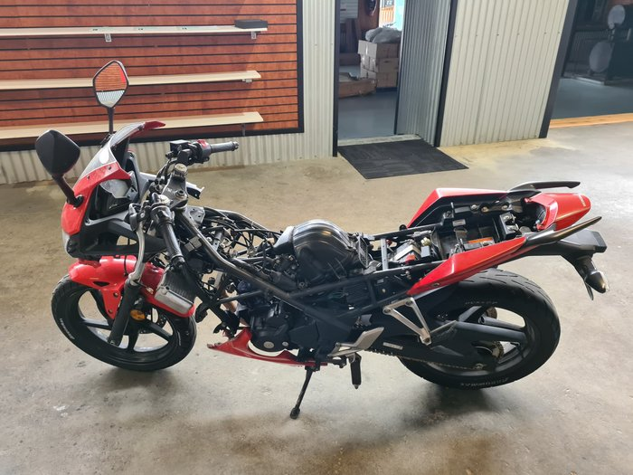 2015 Honda CBR300R CBR Gunpowder Black Metallic or Millennium Red