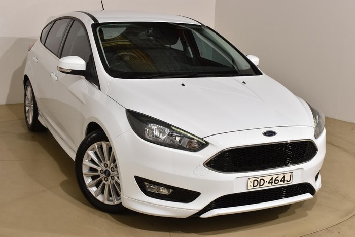 2016 Ford Focus Sport LZ Frozen White