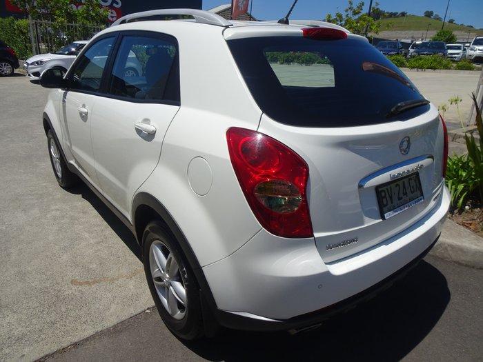 2013 SsangYong Korando SX C200 4X4 Grand White