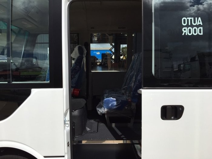 2021 FUSO ROSA DELUXE 25 SEAT BUS - DEMO White