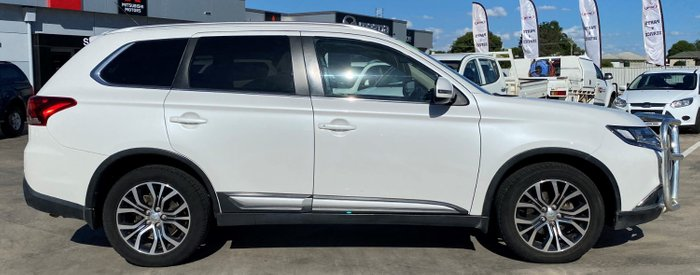 2015 Mitsubishi Outlander XLS ZK MY16 4X4 On Demand White