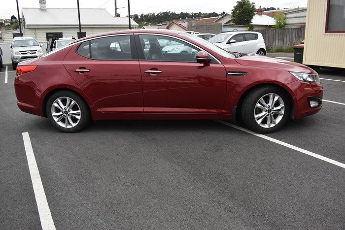 2012 Kia Optima Si TF MY12 Red