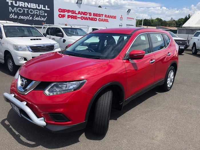 2014 Nissan X-TRAIL ST T32 Red