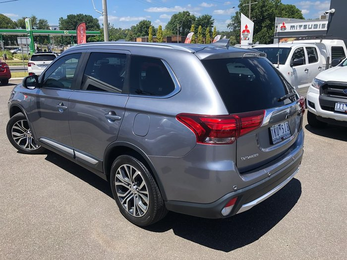 2017 Mitsubishi Outlander LS Safety Pack ZK MY17 4X4 On Demand Grey