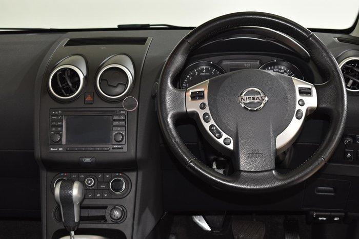 2012 Nissan Dualis +2 Ti-L J10 Series 3 MY12 Nightshade