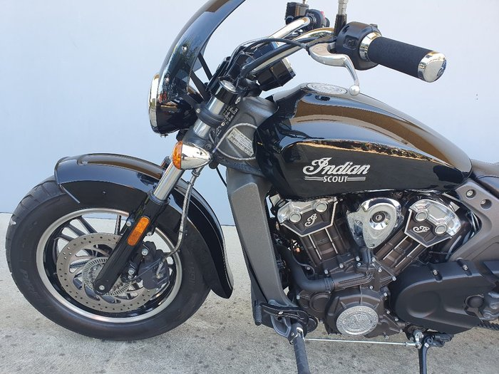 2018 Indian SCOUT Thunder Black