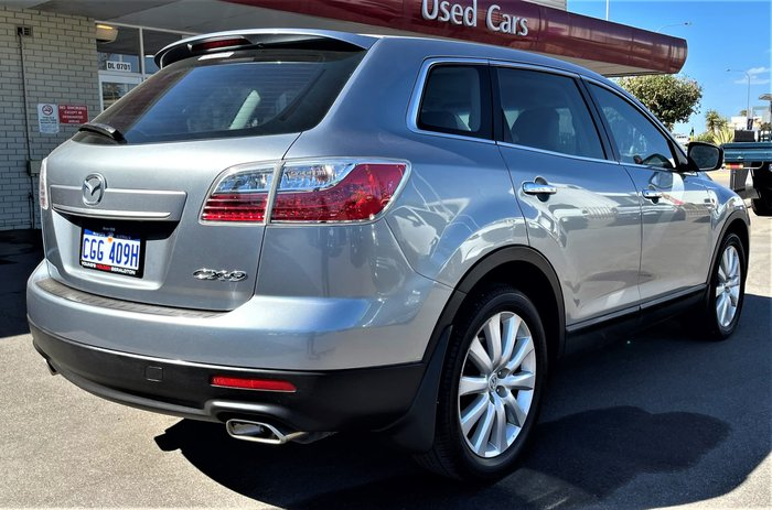 2009 Mazda CX-9 Luxury TB Series 3 MY10 Four Wheel Drive Aluminium