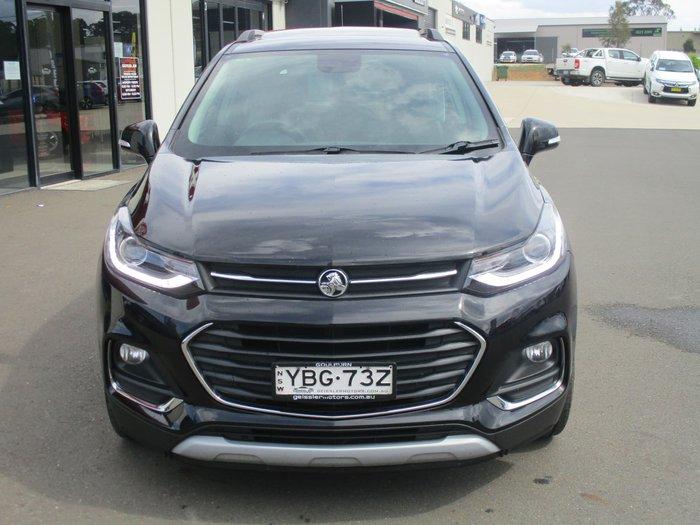 2017 Holden Trax LTZ TJ MY17 Mineral Black