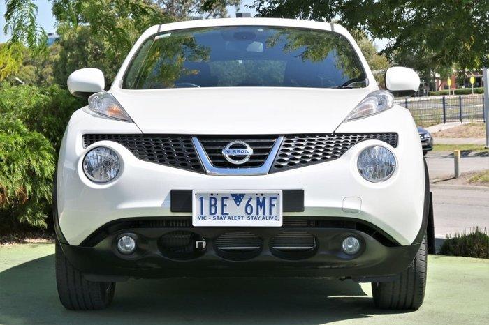 2014 Nissan JUKE ST-S F15 MY14 White