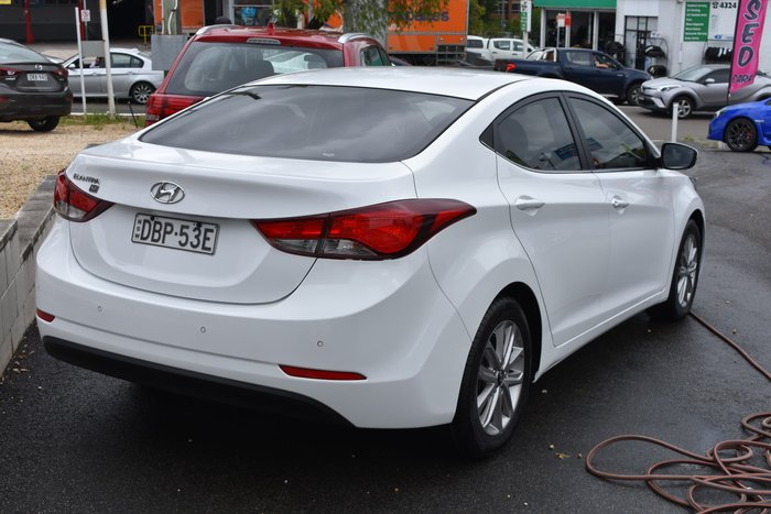2014 Hyundai Elantra Trophy MD3 Creamy White