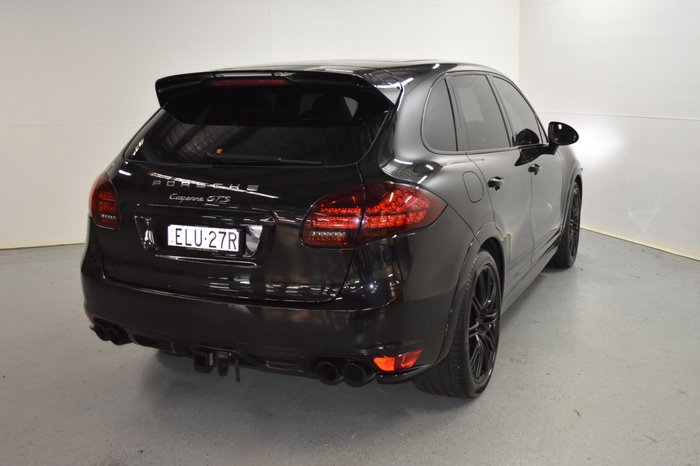 2012 Porsche Cayenne GTS 92A MY13 4X4 On Demand Black