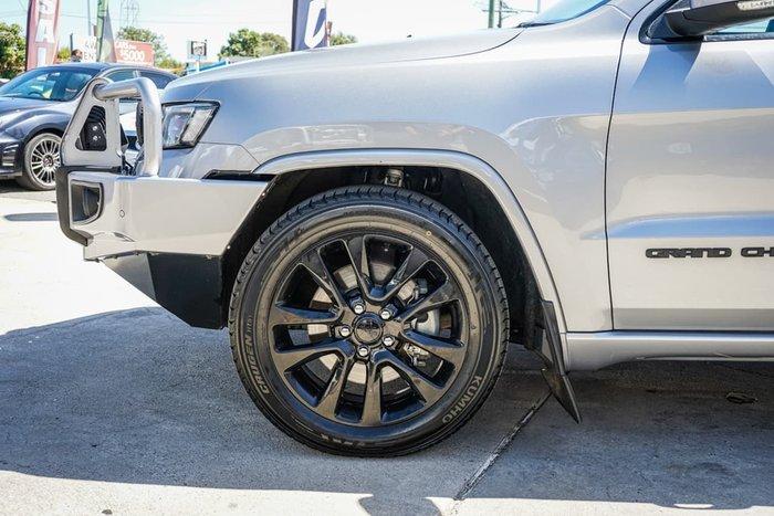 2017 Jeep Grand Cherokee Blackhawk WK MY17 4X4 Dual Range Silver