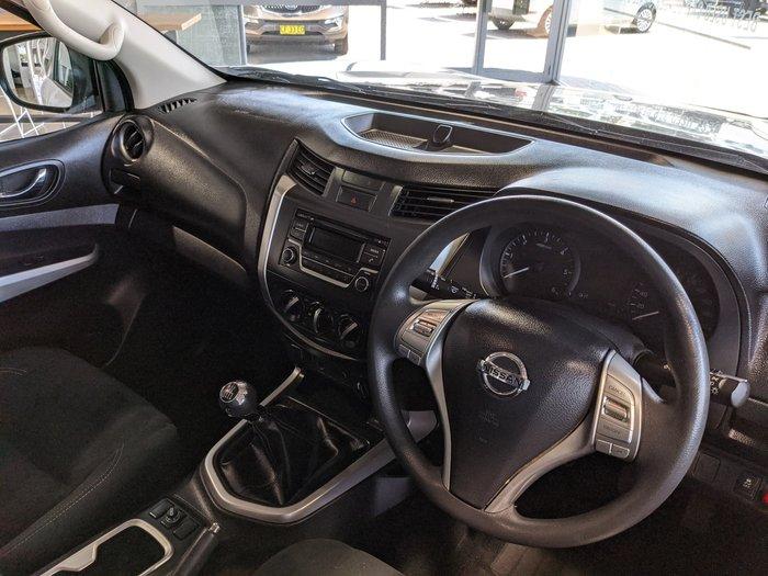2016 Nissan Navara RX D23 4X4 Dual Range Polar White