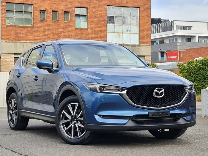 2018 Mazda CX-5 GT KF Series 4X4 On Demand Blue