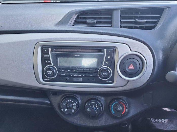 2012 Toyota Yaris YR NCP130R Graphite
