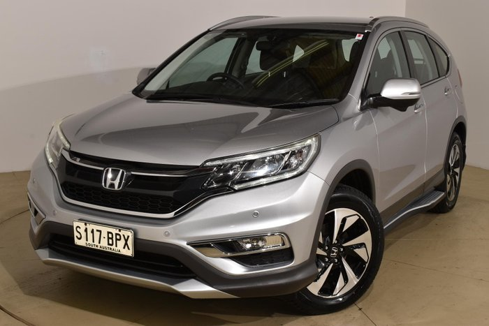 2015 Honda CR-V Limited Edition RM Series II MY17 4X4 On Demand Alabaster Silver