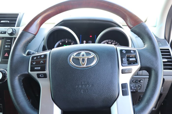 2017 Toyota Landcruiser Prado Kakadu GDJ150R 4X4 Dual Range Bronze