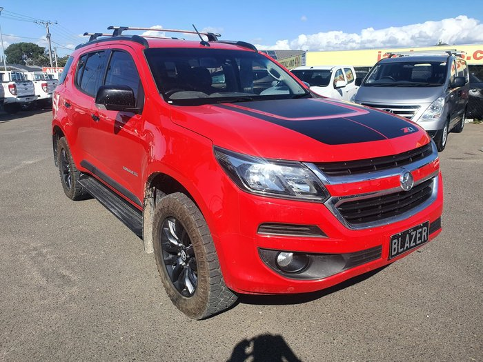 2019 Holden Trailblazer Z71 RG MY19 4X4 Dual Range Absolute Red