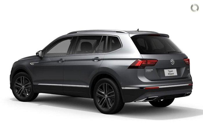 2020 Volkswagen Tiguan 140TDI Highline Allspace 5N MY21 Four Wheel Drive Pyrite Silver