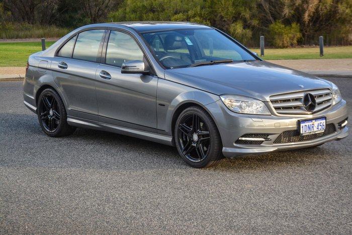 2010 Mercedes-Benz C-Class C250 CGI Avantgarde W204 MY10 Brilliant Silver