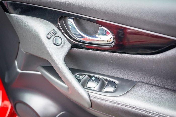 2017 Nissan QASHQAI Ti J11 Red