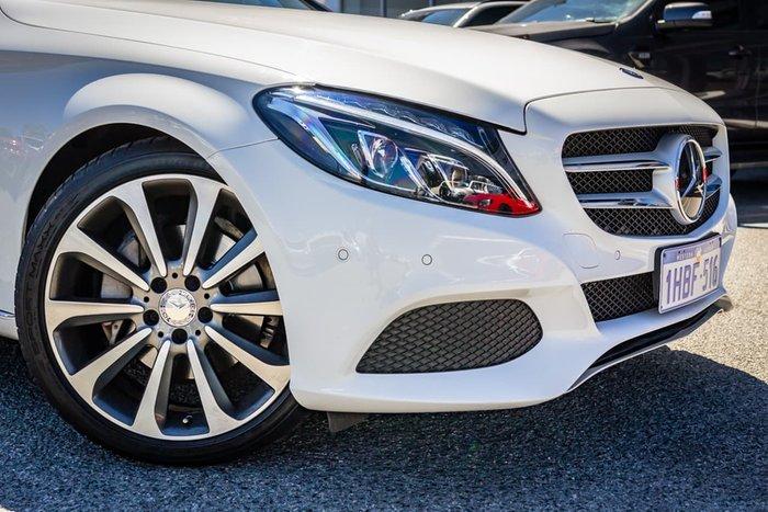 2016 Mercedes-Benz C-Class C250 W205 White