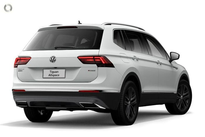 2020 Volkswagen Tiguan 140TDI Highline Allspace 5N MY21 Four Wheel Drive Pure White