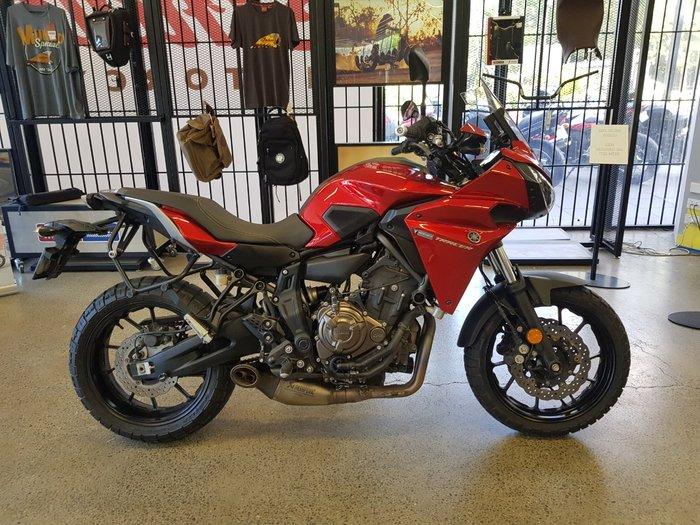 2016 Yamaha MT-07 Red