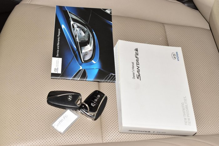 2014 Hyundai Santa Fe Highlander DM MY14 4X4 On Demand Brown