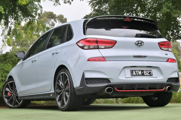 2018 Hyundai i30 N Performance PDe MY18 Blue
