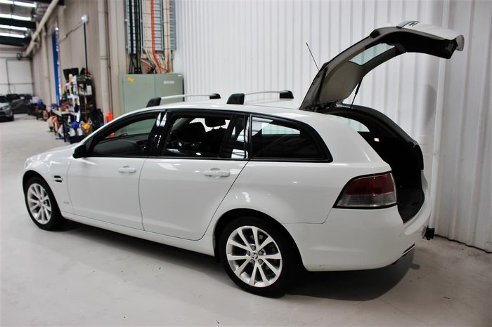 2010 Holden Commodore International VE MY10 White