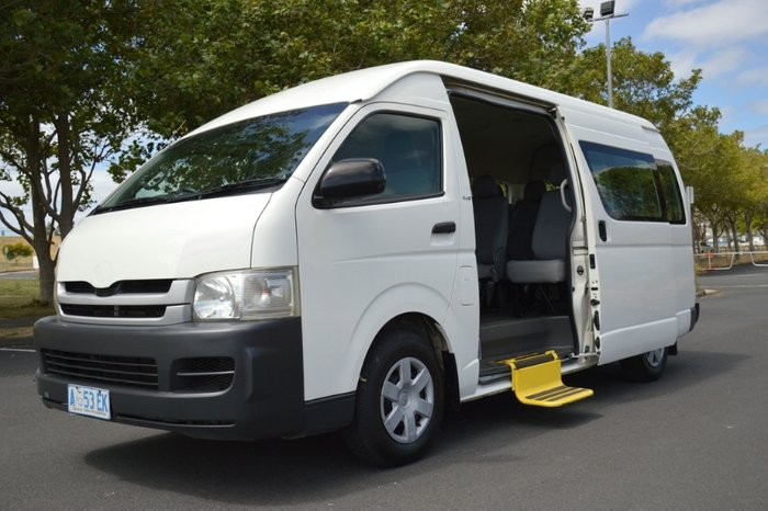 2008 Toyota Hiace Commuter KDH223R MY08 WHITE