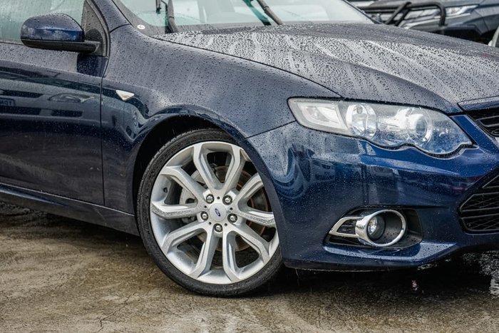 2013 Ford Falcon XR6 Turbo FG MkII Blue