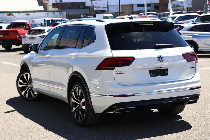 2018 Volkswagen Tiguan 162TSI Highline Allspace 5N MY19 Four Wheel Drive White
