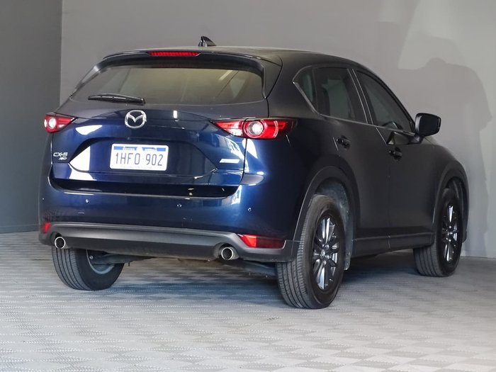 2019 Mazda CX-5 Maxx Sport KF Series 4X4 On Demand Blue