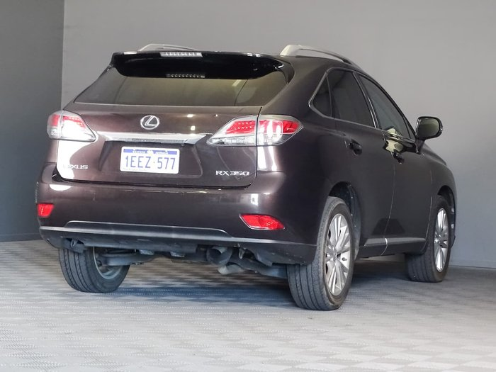 2012 Lexus RX RX350 Luxury GGL15R 4X4 On Demand Bronze